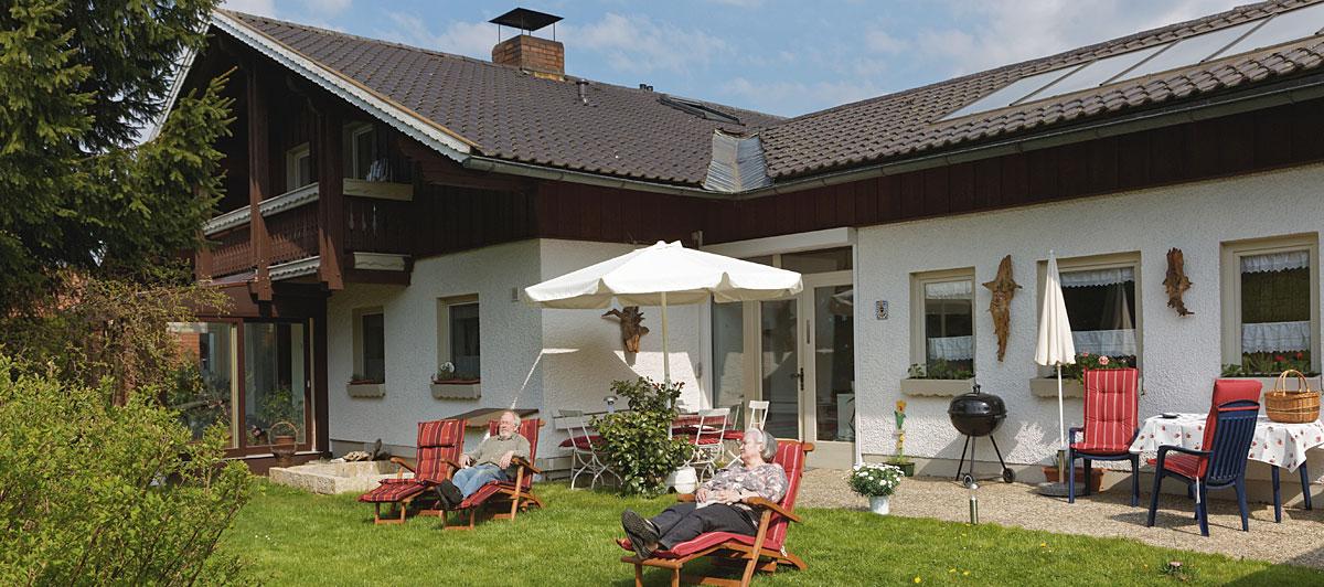 Ferienwohnungen im Haus Silberbergbach in Bodenmais im Bayerischen Wald